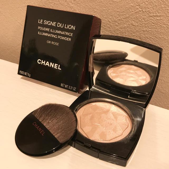 CHANEL(シャネル)のシャネル CHANEL ル シーニュ デュ リオン 特別限定品 オーローズ コスメ/美容のベースメイク/化粧品(フェイスパウダー)の商品写真