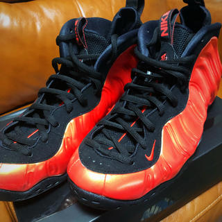 NIKE - NIKE AIR FOAMPOSITE ONE ハバネロレッド 28.5cm