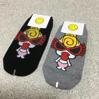 チュチュアンナ(tutuanna)の韓国で購入 靴下 2足セット 未使用 ヒステリックグラマー(ソックス)