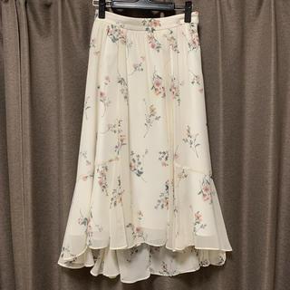 Apuweiser-riche - アプワイザー 花柄スカート