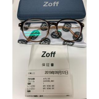 ゾフ(Zoff)のZoff 度入り 眼鏡 ボストン(サングラス/メガネ)