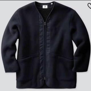 Engineered Garments - 完売品ユニクロ エンジニアードガーメンツ フリースノーカラーコート XL