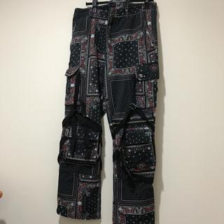 OFF-WHITE - rogic paisley pants ロジック ペイズリーパンツ
