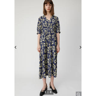 moussy - MOUSSY RUSTIC FLOWER ドレス