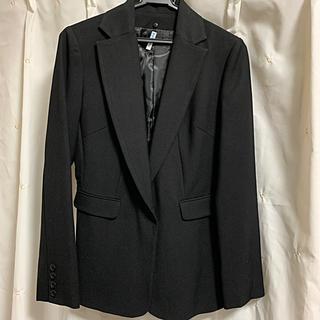 イマージュ(IMAGE)のimage テーラードジャケット 黒(テーラードジャケット)
