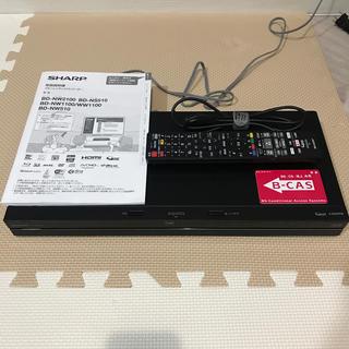 アクオス(AQUOS)のSHARP AQUOS BD-NW1100 ブルーレイレコーダーディスク(ブルーレイレコーダー)