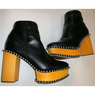 moussy - moussy wood sole ブーツ