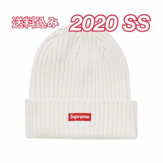 Supreme - 2020SS supreme Overdyed Beanie white