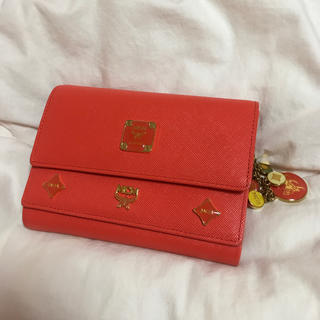 エムシーエム(MCM)のMCM オレンジ 財布(財布)