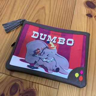 Disney - ポーチ 薄型 ダンボ ディズニー 母子手帳