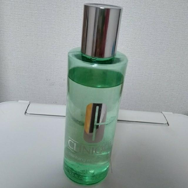 CLINIQUE(クリニーク)のクリニーク化粧水、拭き取り化粧水 残量8割 コスメ/美容のスキンケア/基礎化粧品(化粧水/ローション)の商品写真