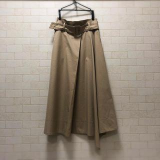 GRACE CONTINENTAL - グレースコンチネンタル【ベルト付きスカート】