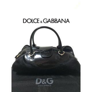 DOLCE&GABBANA - DOLCE&GABBANA ドルチェアンドガッバーナ ハンドバッグ ハラコ