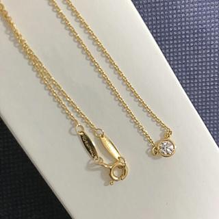 Tiffany & Co. - ティファニー バイザヤード   イエローゴールド ネックレス