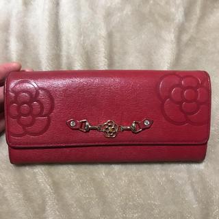 クレイサス(CLATHAS)のクレイサス 赤 長財布(長財布)