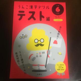 日本一楽しい漢字テストうんこ漢字ドリルテスト編小学6年生