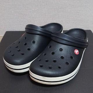 クロックス(crocs)の【使用感あり】crocs 10 ブラック クロックバンド(その他)