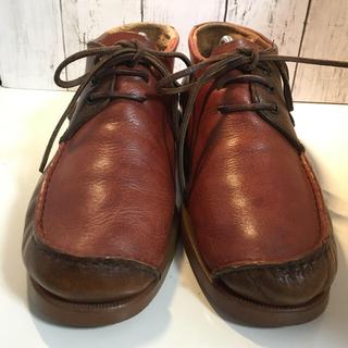 カンペール(CAMPER)の美品 CAMPER カンペール モカシン ブーツ 42 27(ブーツ)