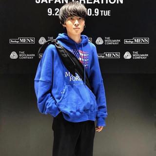 SUNSEA - DAIRIKU パーカー 18aw ブラック