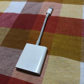 Apple - iPad Apple Lightning - SDカードカメラリーダー