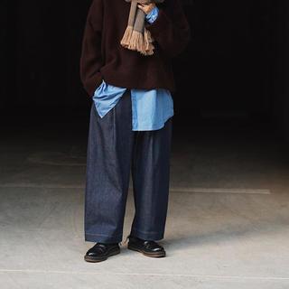 COMOLI - STUDIO NICHOLSON volume pants blake