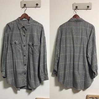 GRL - GRL♡オーバーサイズチェックシャツ