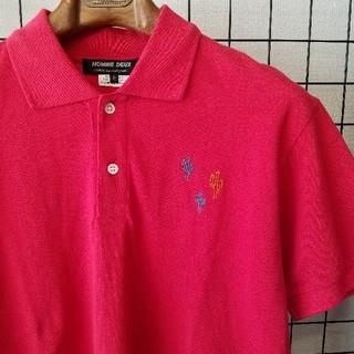 コムデギャルソン(COMME des GARCONS)のCOMME des GARCONS HOMME DEUX 刺繍入り ポロシャツ(ポロシャツ)