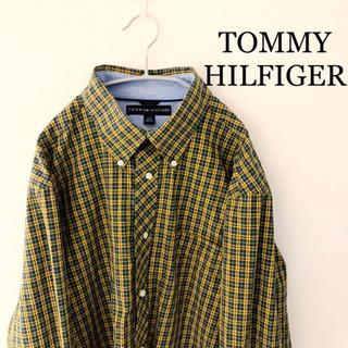 TOMMY HILFIGER - トミーヒルフィガー  チェックシャツ 長袖 TOMMYHILFIGER Lサイズ