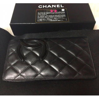 CHANEL - シャネル❤カンボンライン 長財布❤付属品完備