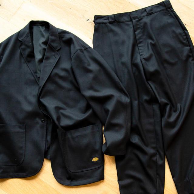 Dickies(ディッキーズ)の【早い者勝ち】beams限定 DICKIES×TRIPSTER ウールサキソニー メンズのスーツ(セットアップ)の商品写真