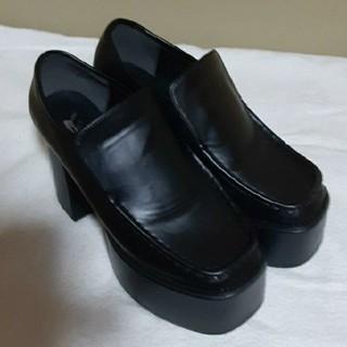 大きいサイズ LL ローファー 厚底(ローファー/革靴)