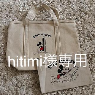 ミッキーマウス(ミッキーマウス)のミッキー サーフ トート&ポーチ 2個セット(トートバッグ)