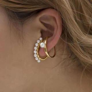 ドゥーズィエムクラス(DEUXIEME CLASSE)のパール ear cuffセット(イヤーカフ)