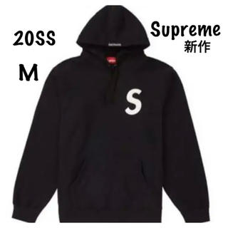 Supreme - Supreme Sロゴ パーカー ブラック M  20SS