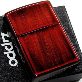ジッポー(ZIPPO)の(送料込み)ZIPPO◇ダメージレッド◇新品◇ ジッポ(タバコグッズ)
