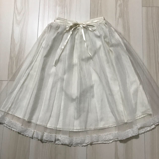 アンクルージュ(Ank Rouge)のアンクルージュ チュールスカート(ひざ丈スカート)