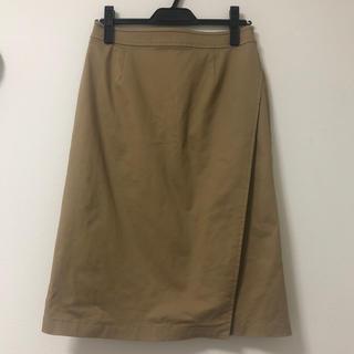 マッキントッシュフィロソフィー(MACKINTOSH PHILOSOPHY)のマッキントッシュフィロソフィー ラップスカート(ひざ丈スカート)