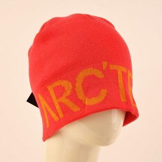 アークテリクス(ARC'TERYX)のアークテリクス ピンク ニット帽ARC'TERYXビーニー ニットキャップ 新品(ニット帽/ビーニー)