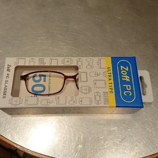 ゾフ(Zoff)のゾフPCブルーライトカットメガネ未使用(サングラス/メガネ)