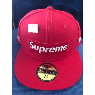 Supreme - Supreme New Era 7 1/2 レッド 赤 newera