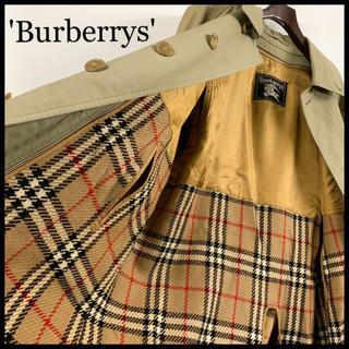 BURBERRY - BURBERRY バーバリー ステンカラーコート カーキ インナーライナー付属