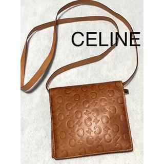 celine - 激レア‼️ヌメ革 セリーヌCELINEお財布ショルダー