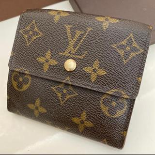 LOUIS VUITTON - 美品 正規品ルイヴィトンモノグラムWホック折財布