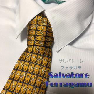Salvatore Ferragamo - サルバトーレ フェラガモ ネクタイ 【美品】