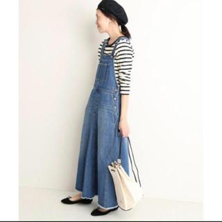 IENA SLOBE - ジャンパースカート