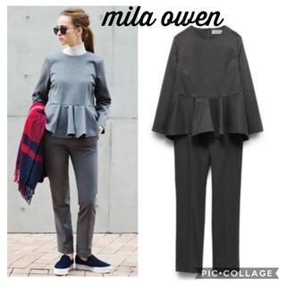 Mila Owen - クリーニング済 ミラオーウェン セットアップ 卒園式ママ 卒業式ママ