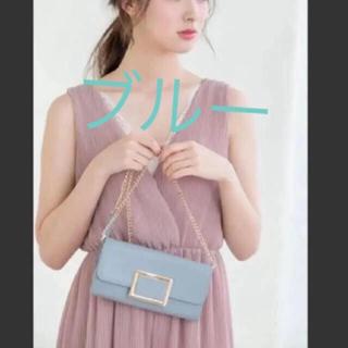 フィフス(fifth)の新品 ブルー ショルダーバッグ ショルダーウォレット 財布 ポーチ(ショルダーバッグ)