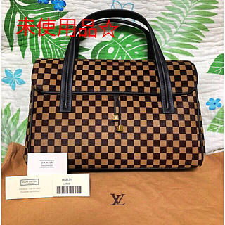 LOUIS VUITTON - お値下げ☆廃盤レア品☆未使用☆正規品 ルイヴィトン・ダミエソバージュハラコバッグ
