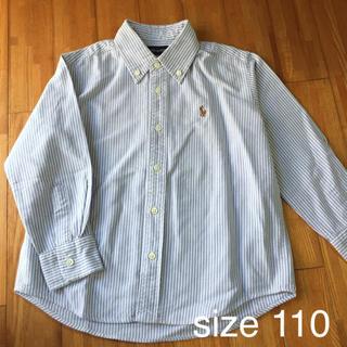 Ralph Lauren - ラルフローレン ストライプ ボタンダウンシャツ   110