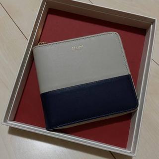 celine - 『セリーヌ』美品 バイカラー二つ折り財布
